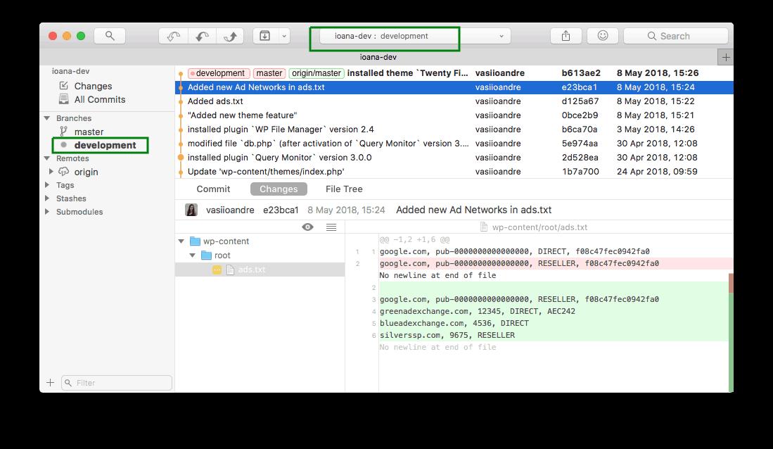 Git development with Fork on macOS | Presslabs Documentation